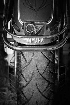 Yamaha Motorcycle, Allison Lange